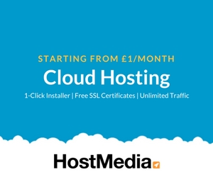 Cloud Hosting from Host Media - https://www.hostmedia.co.uk/