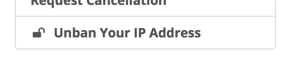Check if your IP is blocked and how to unblock it from